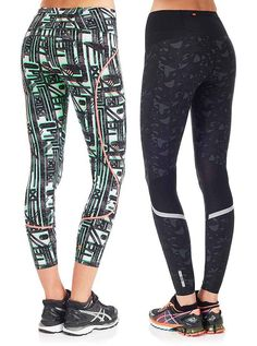 Brighten up your workout with chic run leggings