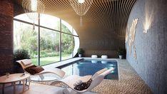 Jagged edge cliff house overlooking lake wakatipu in for Swimming pool design new zealand