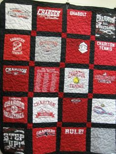 Texas Longhorn T-Shirt quilt...I have enough old T-shirts to do ... : custom tshirt quilts - Adamdwight.com