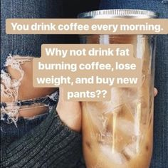 Your a coffee drinker? Why not drink healthy coffee? Your body will thank you later! 10 Day Diet, Coffee Shop Aesthetic, It Works Marketing, It Works Distributor, Skinny Coffee, It Works Products, Mocha Coffee, Belly Fat Diet, Diet Plan Menu