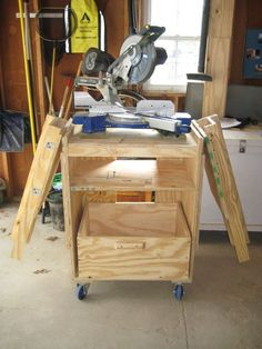 Picture of Miter Saw Station instructibles