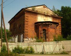 Old tatar mosque.Siberya
