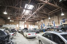 Image result for industrial auto repair shop