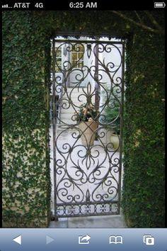 A secret garden gate?