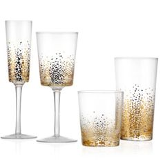 Asteria Glassware - Sets of 4 from Z Gallerie
