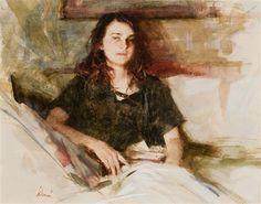Richard Schmid, Portrait of Rose Frantzen