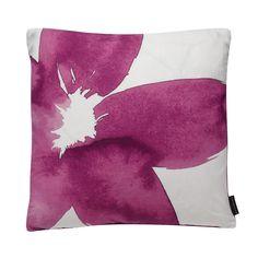Designer pink floral cushion - Debenhams.com