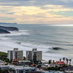 Cape Fear was far and away  the most impressive show in town a couple days ago but it wasn't the only show in NSW. Here's the north beaches of Sydney flexing. Want to see the whole swell from Sydney to the Sunshine Coast? Check our latest gallery on our site to see how the whole coast lit up. Photo: @chroniclesofchristie #SURFINGunion