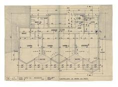 Картинки по запросу Rino Tami, Casa Torre, Lugano, 1957 Lugano, Sheet Music, Tours, Homes, Floor Plans, Music Score, Music Notes