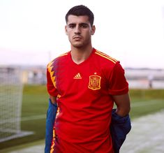 9327e46e9 Alvaro Morata Spain World Cup 2018 Home Kit World Cup Kits