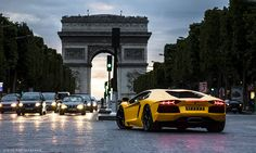 Luxury cars.