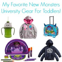 18 Spooktastic Monsters University Products For Toddlers!