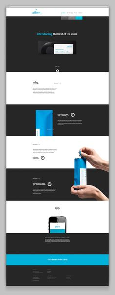 Affirm by Rikke Hindborg, via Behance