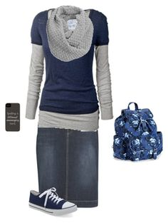 """School Morning"" by modest-17 ❤ liked on Polyvore featuring kew.159, Fat Face, Aéropostale and Jigsaw"