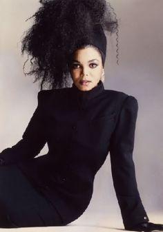 pendule for janet photo: Janet Jackson Janet Jackson 80s, Janet Jackson Velvet Rope, Jo Jackson, Michael Jackson, Black Celebrities, Hollywood Celebrities, Hollywood Actresses, Celebs, Afro