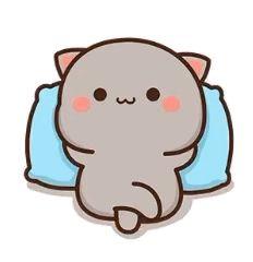 Cute Anime Cat, Cute Bunny Cartoon, Cute Cartoon Pictures, Cute Love Cartoons, Cute Cat Gif, Cute Cats, Cute Bear Drawings, Cute Disney Drawings, Cute Cartoon Drawings