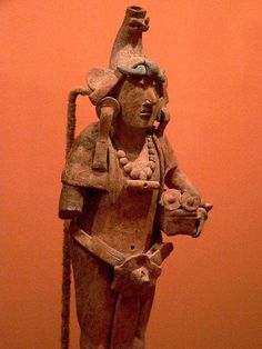 Male figurine Earthenware Maya 600 to 900 CE