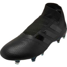 buy online 043f6 4d1fe adidas Nemeziz 18 FG – Black Black White