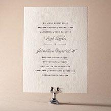 Letterpress Wedding Invitations   Ashwell Design   Bella Figura Letterpress