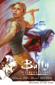 Rededicated to the Slayer mission, Buffy is reducing the zompire population one by one - until she is ripped from the middle of a battle and transported to LA. The demon Illyria and a mystical council