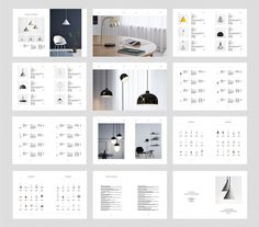 CENTRE Lighting Catalog template is professional, fresh and clean InDesign template. Brochure Layout, Brochure Design, Layout Design, Web Design, Print Design, Portfolio Layout, Portfolio Design, Promo Flyer, Catalogue Layout