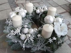 Winter Christmas, Holiday, Candels, Christmas Decorations, Table Decorations, Floral Arrangements, Diy Crafts, Home Decor, Home