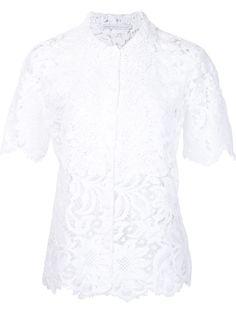 Ermanno Scervino кружевная блузка