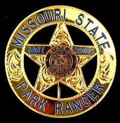 Missouri State Park Ranger Badge