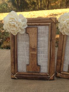 Rustic Wedding Table Numbers  Set Includes by CountryBarnBabe, $162.00