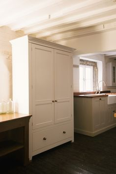 Our beautiful Classic English Pantry Cupboard at Cotes Mill