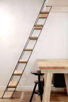 - The world's most private search engine Small Space Staircase, Modern Staircase, Staircase Design, Spiral Staircases, Home Building Design, Home Design Plans, House Design, Loft Design, Design Design