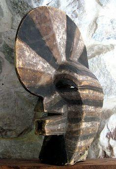 Songye (Songe) Kifwebe Mask. D.R.Congo