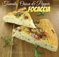 Tomato and Onion Focaccia recipe