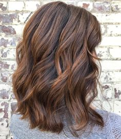 """Amy Ziegler (@askforamy) on IG: balayage brunette lob """"✨The Moment You Get One Of Your Clients Moms On The #AskForAmy Train✨ """""""