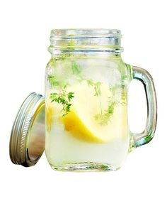 Take a look at this Del Sol Handled Mason Jar - Set of Four by Home Essentials and Beyond on #zulily today!