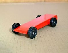 Official Boy Scout or Cub Scout Pinewood Derby Car. SUPER FAST!  No cheating, only generations of Boy Scouts ingenuity and secrets.