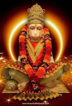 Hanuman Murti, Hanuman Tattoo, Hanuman Chalisa, Radhe Krishna, Durga, Hanuman Images, Lord Shiva Painting, Lord Mahadev, Indian Goddess