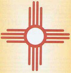 Soyal - Zuni Sun Symbol