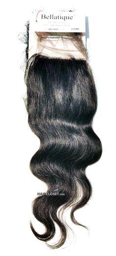 Bellatique Brazilian Virgin Remy Hair SILK BASE CLOSURE-BODY WAVE