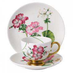 Floral Eden Geranium 3-Piece Set by Wedgwood