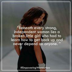 Strong even when broken