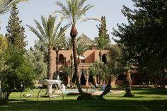 A Slice of Heaven in Marrakech - Dar Ayniwen Villa Hotel Riads In Marrakech, Marrakech Morocco, Marrakech Hotels, Morocco Hotel, Morocco Travel, Beautiful Hotels, Beautiful Gardens, Villa, Maine House