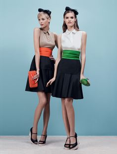 Love these dresses by Paul Ka
