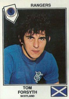 Tom Forsyth of Rangers in 1977.