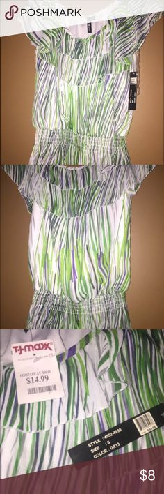 women's TJ Max top size small new with tags. tj maxx Tops Blouses