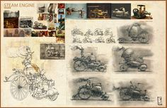 Jayee Borcar.......... steam powered vespa........... Click on image to enlarge.....