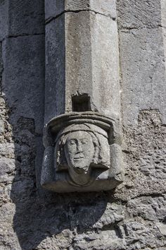 This chap looks quite cheerful for someone who has been supporting an archway for over 700 years! In the Dominican Friary of Kilmallock, County Limerick