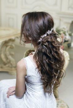 Bridal headpiece Wedding hair piece by TopGracia