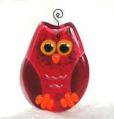 Gorgeous Fused Glass Owl £9.50