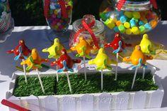 Airplane cake pops #airplane #cakepops